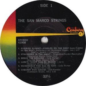 SAN MARCO - CENTURY 41908 - RA