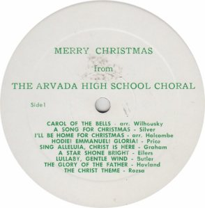 SCHOOL - ARVADA HIGH - AHS 1
