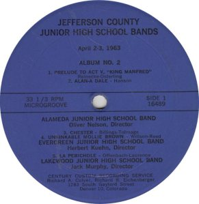 SCHOOL - CENTURY 16489 - JR HIGH BANDS 1963 A (1)