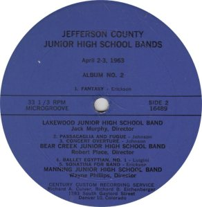 SCHOOL - CENTURY 16489 - JR HIGH BANDS 1963 A (2)