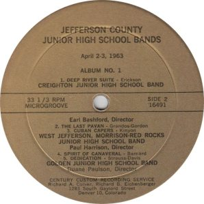 SCHOOL - CENTURY 16491 - JR HIGH BANDS 1963a (2)