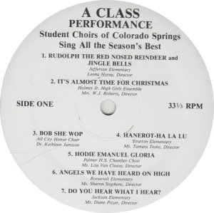 SCHOOL - COLO SPRINGS STUDENT CHOIRS (3)