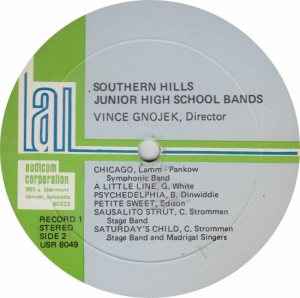 SCHOOL - SOUTHERN JR HIGH - AUDICON 8049_0001