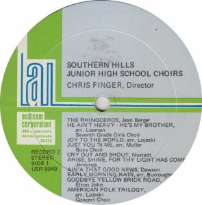 SCHOOL - SOUTHERN JR HIGH - AUDICON 8049_0002