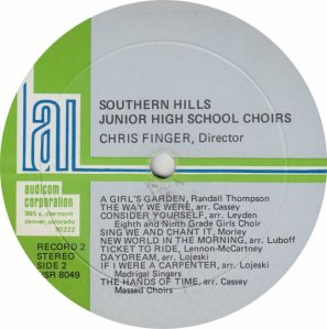 SCHOOL - SOUTHERN JR HIGH - AUDICON 8049_0003