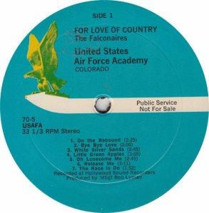 SCHOOL - USAF ACADEMY - CENTURY 705