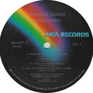 STANLEY MICHAEL - MCA 372 R