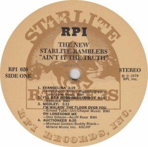 STARLITE RAMBLERS RPI 20 - RA_0001
