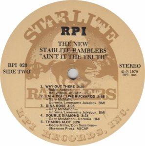 STARLITE RAMBLERS RPI 20 - RB