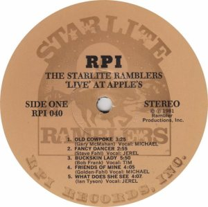 STARLITE RAMBLERS - RPI 40 - RAA (1)