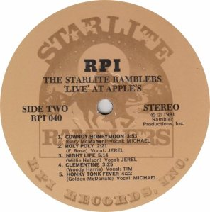STARLITE RAMBLERS - RPI 40 - RAAA (1)