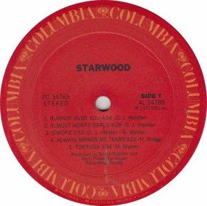 STARWOOD - COL 34785 - RA
