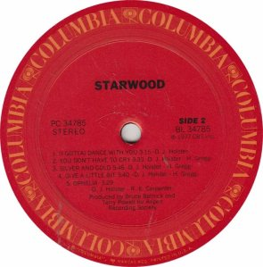 STARWOOD - COL 34785 - RB