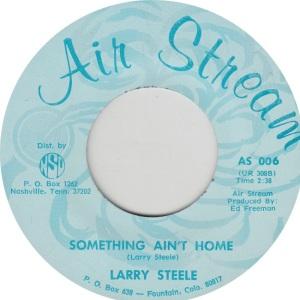 STEEL LARRY - AIR STREAM 6 B