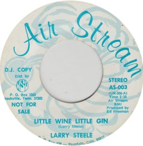 STEELE LARRY - AIR STREAM 3