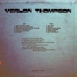 THOMPSON VERLON - TIMBERLINE 710 AM (3)