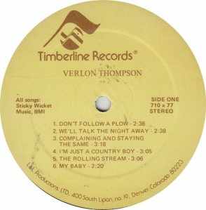 THOMPSON VERLON - TIMBERLINE 710 AM (4)
