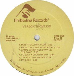 THOMPSON VERLON - TIMBERLINE 710 AM (4)