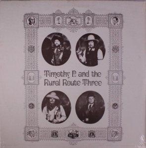 TIMOTHY P 3 LP SET A