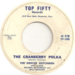 Top Fifty 101 - Denver Dutchmen - The Cranberry Polka