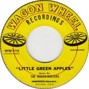 Wagon Wheel - 114 - Wagon Masters - Little Green Apples