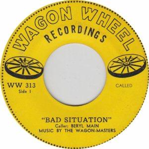 WAGON WHEEL 313 - A
