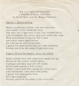 WAGON WHEEL 313 - INST