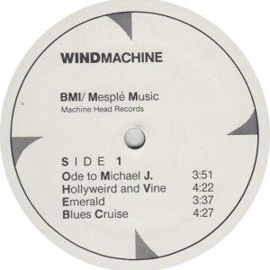 WIND MACHINE - BMI 1 R