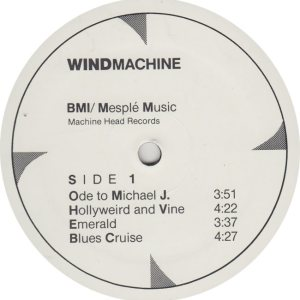 WIND MACHINE - BMI 1 R