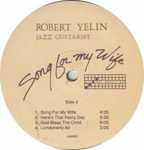 YELIN ROBERT - AMERICAN - B