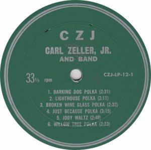 ZELLER CARL - CZJ 122