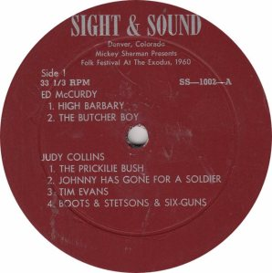 COLLINS JUDY & OTHERS - SIGHT A