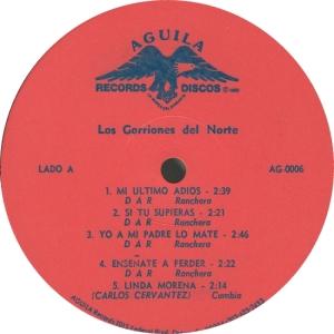 GORRIONES - AGUILA 6 - A