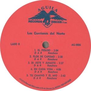 GORRIONES - AGUILA 6 - B