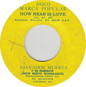 HUERTA SALVADOR - MARCA 1
