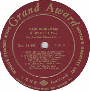 WHITEMAN PAUL - GRAND AWARD 502_0001