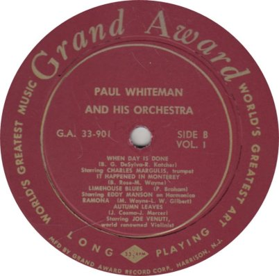 WHITEMAN PAUL - GRAND AWARD 901a (2)
