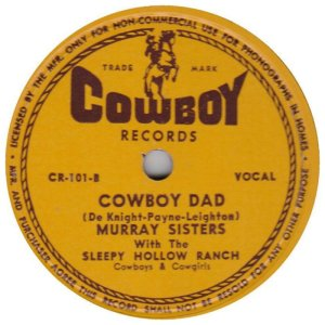 First Cowboy Release - 1946
