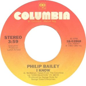 BAILEY PHILIP - COLUMBIA 3968 C