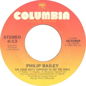BAILEY PHILIP - COLUMBIA 3968 D