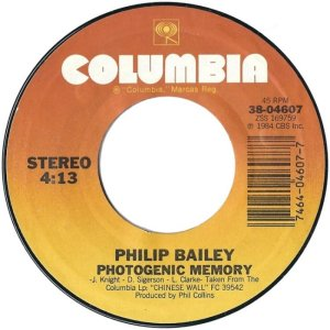 BAILEY PHILIP - COLUMBIA 4607 A