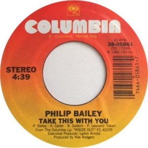 BAILEY PHILIP - COLUMBIA 5861 D