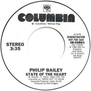 BAILEY PHILIP - COLUMBIA 5861 promo dj