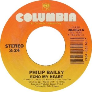 BAILEY PHILIP - COLUMBIA 6216 AUG 86 A
