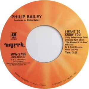 BAILEY PHILIP - MYRRH 2725 1984 A