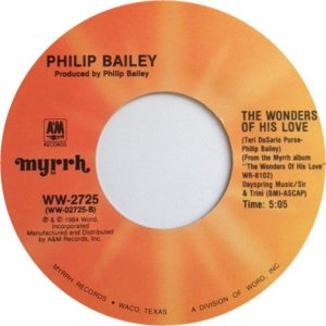 BAILEY PHILIP - MYRRH 2725 1984 B