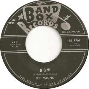 Band Box 261 - Valino, Joe - Now