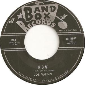 Band Box 261 - Valino, Joe - Now
