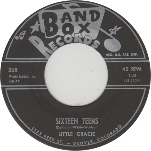 BAND BOX 268 - LITTLE GRACIE COM B