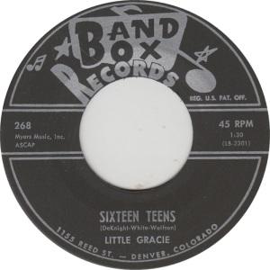 BAND BOX 268 - LITTLE GRACIE COM B